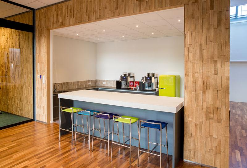 interieurbouw kantoorinrichting Nedap 3