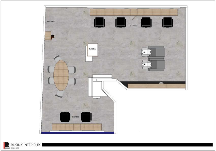 interieurbouw plattegrond