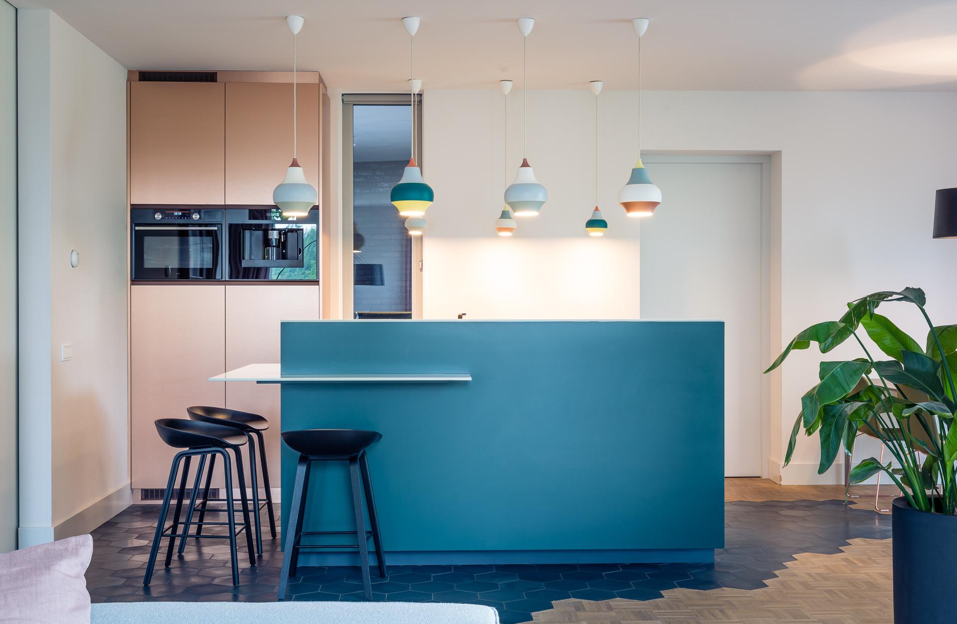Maatwerk interieur keukeneiland