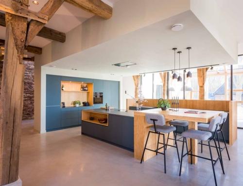 Sfeervolle moderne keuken