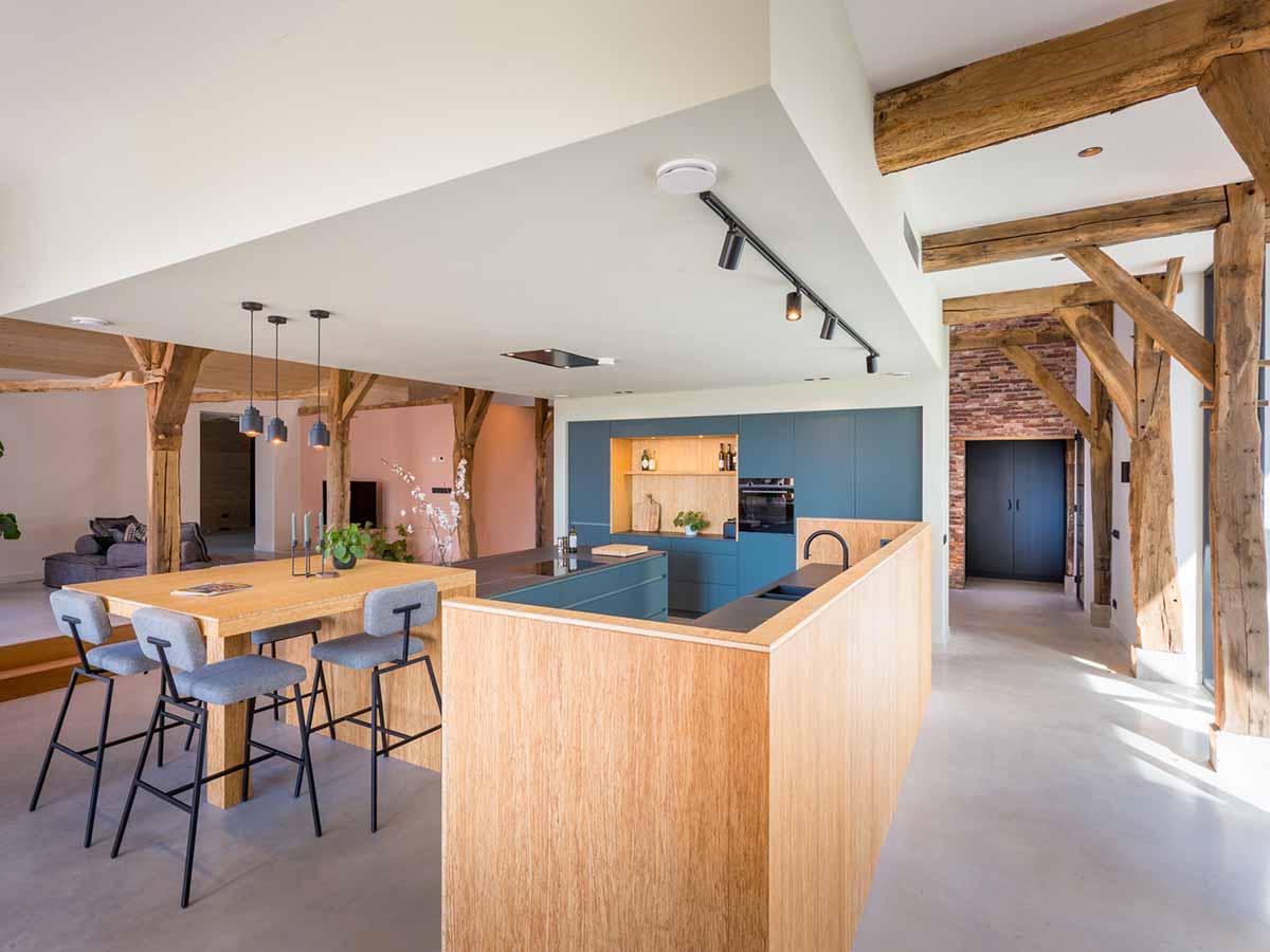 maatwerk keuken landelijke woning 19